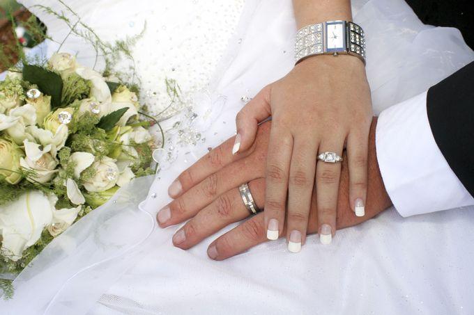 راز زییایی دست عروس خانم ها