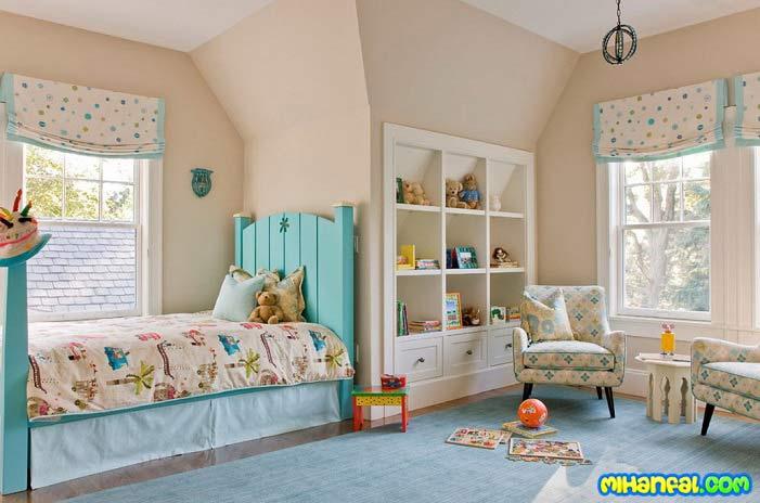 بهترین رنگ برای اتاق کودک شما کدام است؟!