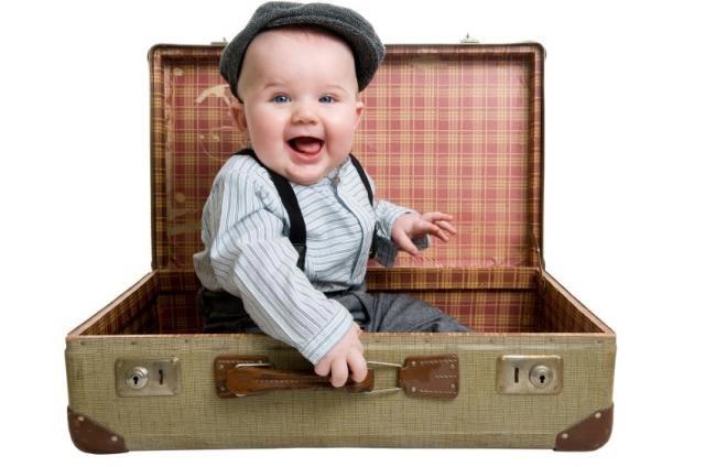 نکاتی در مورد اولین سفر با نوزاد