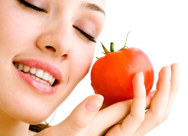 با گوجه فرنگی زیباتر شوید