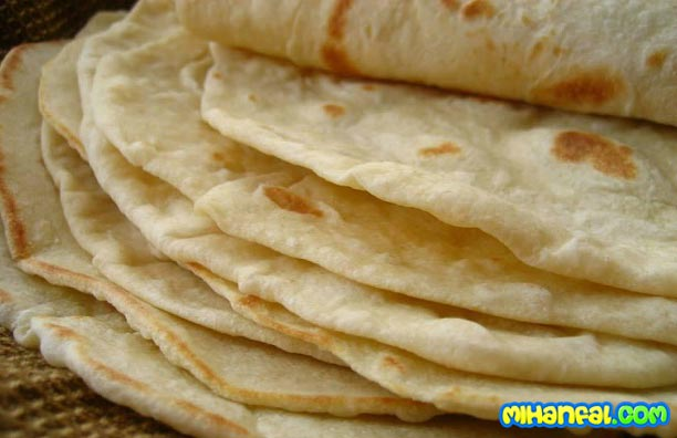 طرز تهیه نان خانگی