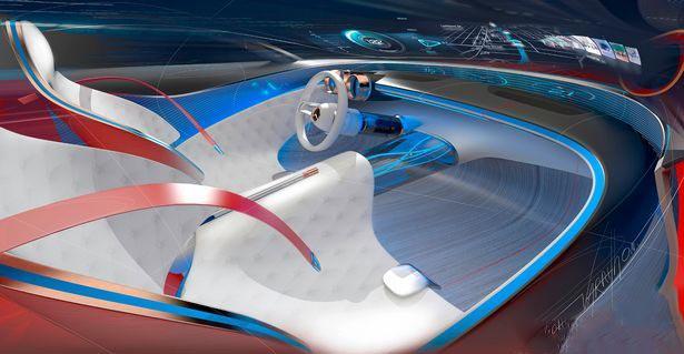 مرسدس بنز از پیشرفته ترین موتور الکتریکی رونمایی کرد