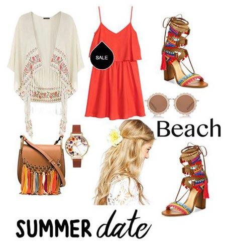 مدل های جدید ست لباس رنگی برای تابستان
