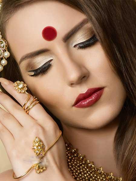 مدل های جدید آرایش هندی