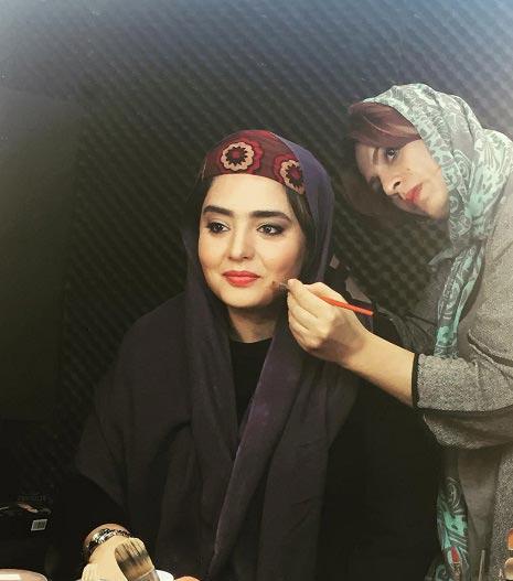 عکس هایی از گریم جدید نرگس محمدی