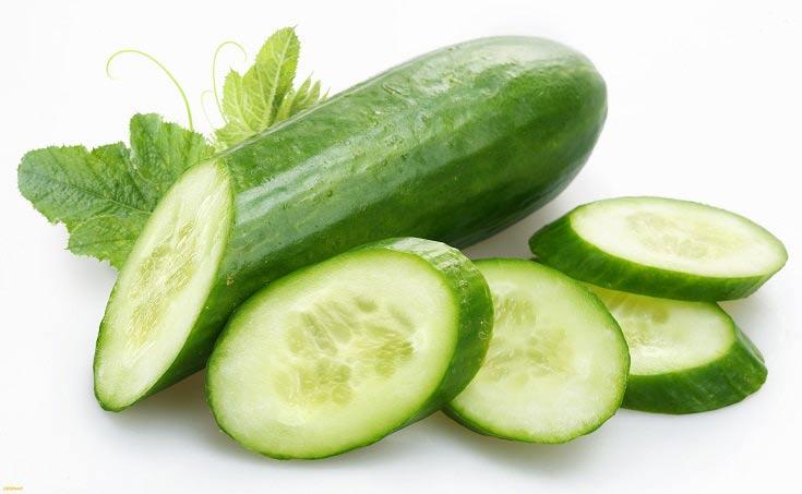 کاهش وزن 7 کیلویی در یک هفته توسط رژیم سالاد خیار