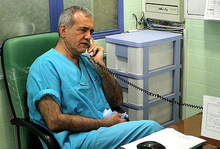 جراحی قلب باز توسط نماینده محبوب مردم تبریز + عکس