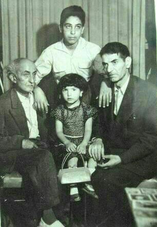 عکس یادگاری شهریار و نیما یوشیج