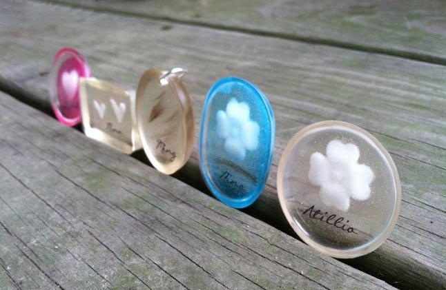 ساخت جواهرات با شیر مادر + تصاویر