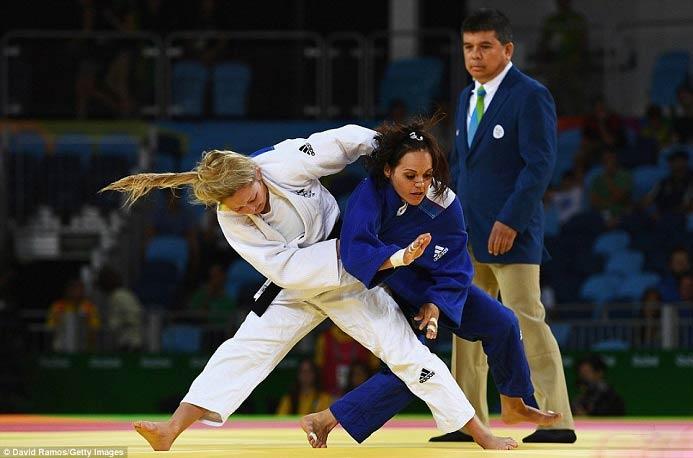 تصاویر جالب از حاشیه مسابقات المپیک