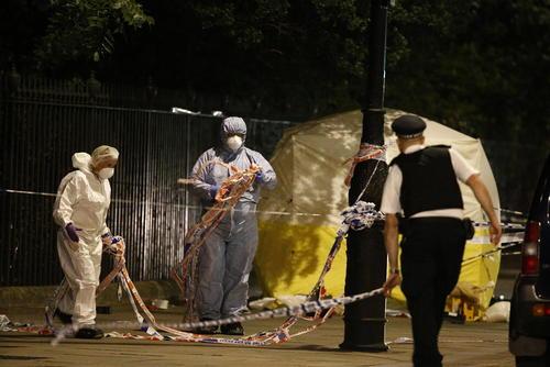 کشته شدن یک زن و زخمی شدن 6 نفر دیگر در حمله با چاقو در لندن