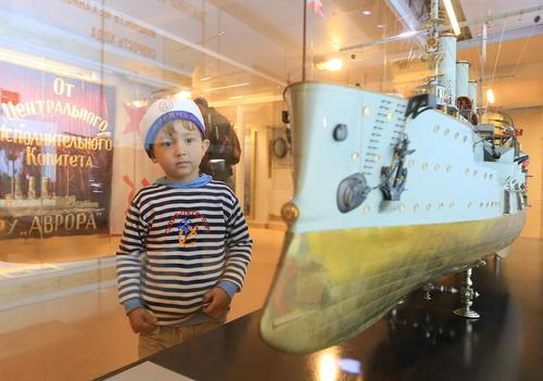 موزه نیروی دریایی روسیه در شهر سن پترز بورگ
