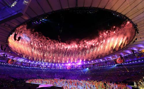 مراسم افتتاحیه المپیک 2016 ریودوژانیرو
