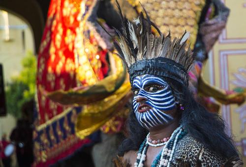 جشنواره آیینی در جیپور هند