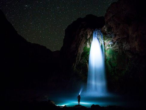 آبشار هاواسو در آریزونا آمریکا