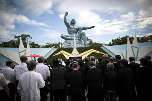 مراسم گرامی داشت قربانیان حمله اتمی به شهر ناگازاکی ژاپن در هفتاد و یکمین سالگرد این فاجعه – پارک صلح ناگازاکی