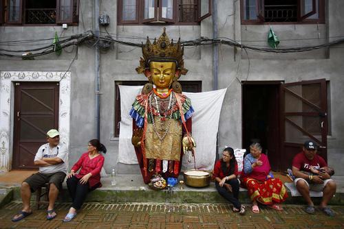 جشنواره آیینی پانچا دان در لالیتپور نپال