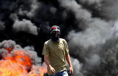 اعتراضات جوانان فلسطینی علیه اسراییل – نابلس
