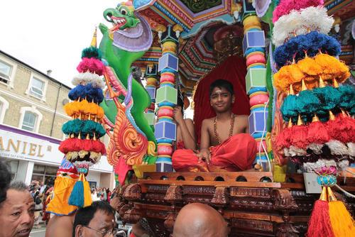 جشنواره سالانه هندوها در لندن