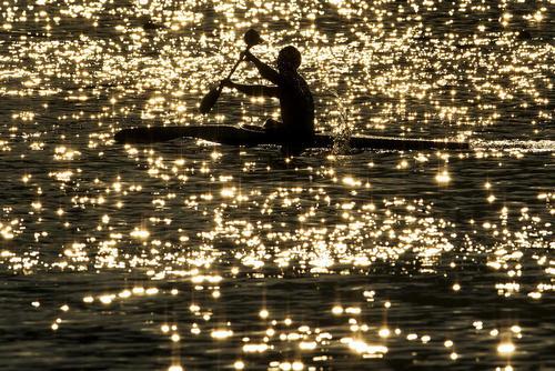 مسابقات کانوی تک نفره 200 متر در سواحل ریودوژانیرو برزیل- المپیک ریو