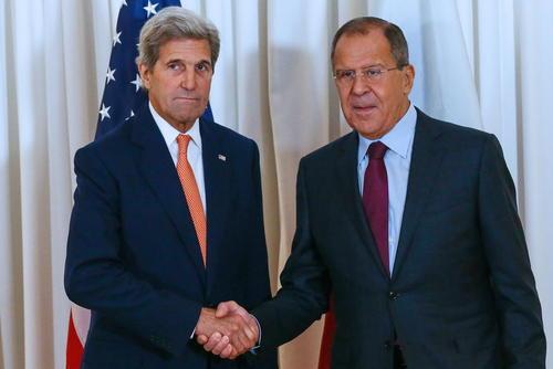 مذاکرات 12 ساعته جان کری و سرگئی لاوروف وزرای امور خارجه آمریکا و روسیه درباره بحران سوریه – ژنو سوییس