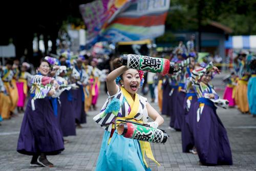 جشنواره سالانه یوساکوی در توکیو