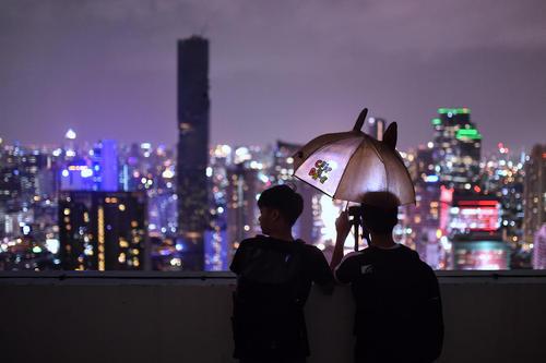 عکس گرفتن از بلند ترین ساختمان شهر بانکوک