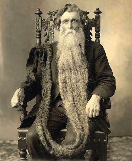 مردی که ریش بلندش باعث مرگش شد + عکس