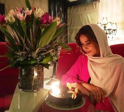 کیک تولد 31 سالگی پریناز ایزدیار + عکس