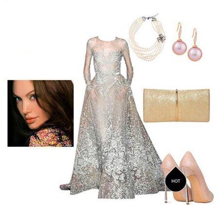 مدل های ست کردن لباس شب به سبک آنجلینا جولی