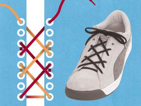 13 مدل بستن بند کفش