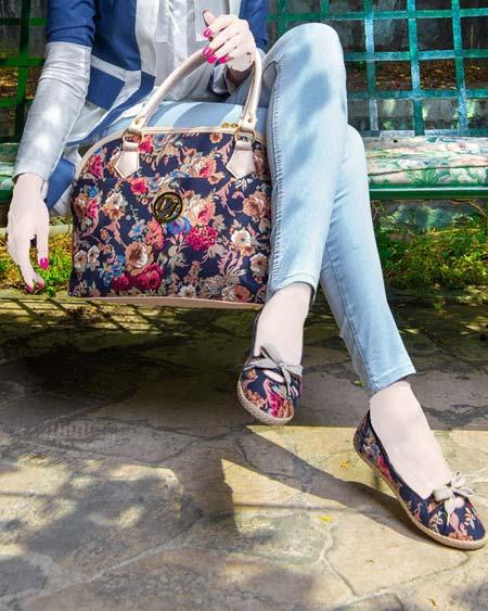 مدل های جدید ست کیف و کفش دانشجویی