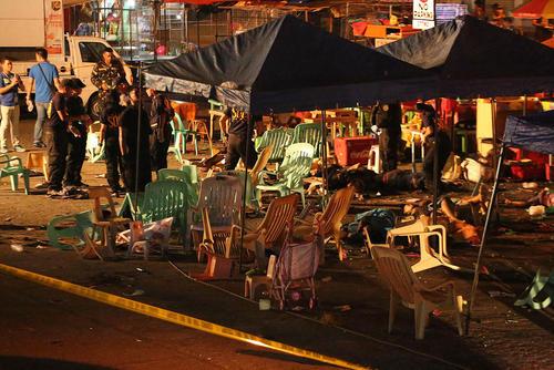 10 کشته در انفجار تروریستی در شهر داوائو فیلیپین