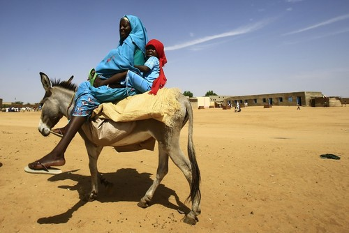 اردوگاه آوارگان در دارفور سودان