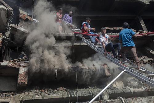انفجار دیگ بخار یک کارخانه در شهر داکا بنگلادش