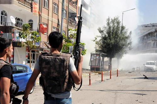 انفجار تروریستی در شهر وان ترکیه