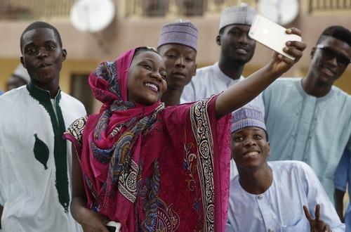سلفی روز عید قربان در لاگوس نیجریه