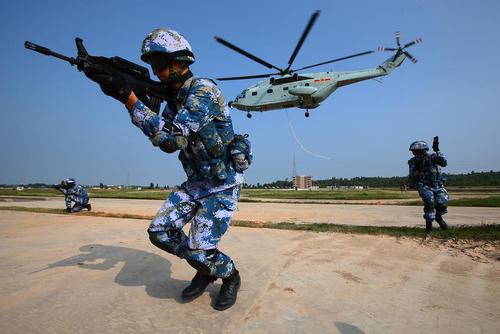 رزمایش مشترک چین و روسیه - چین
