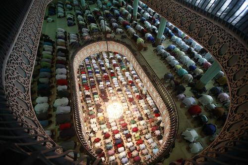 نماز عید قربان در مسجد جامع