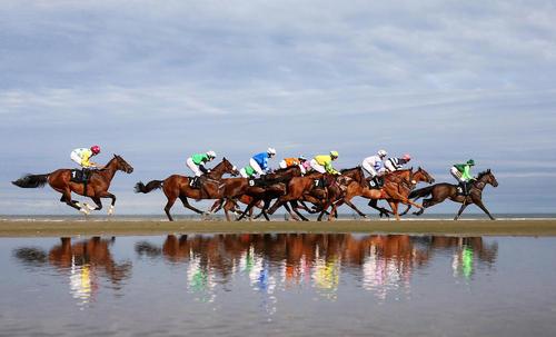 مسابقات اسب سواری در لِیتون انگلیس