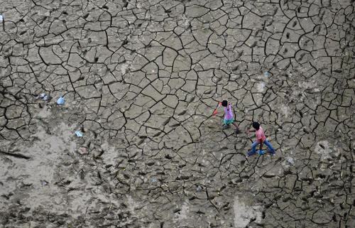 خشکسالی – الله آباد هند