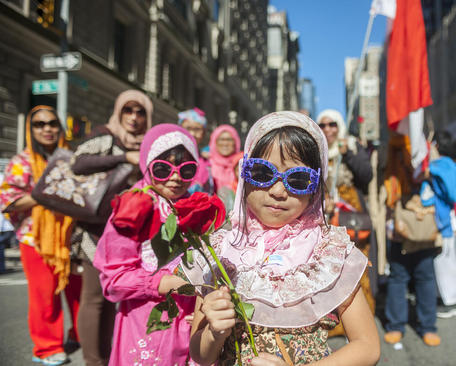 سی و یکمین جشنواره سالانه مسلمانان نیویورک در خیابان مدیسون این شهر
