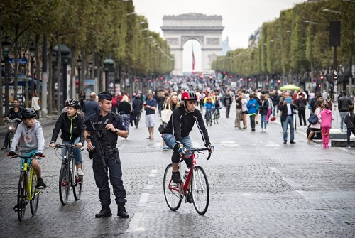 روز بدون خودرو در پاریس