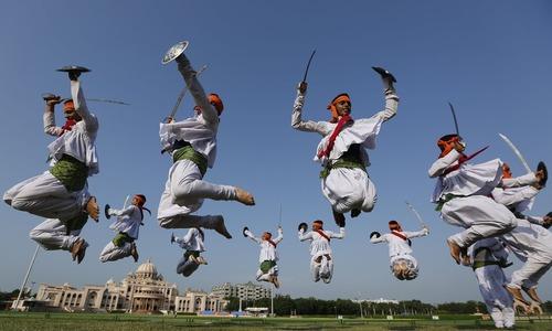 جشنواره سنتی ناواراتری – احمد آباد هند