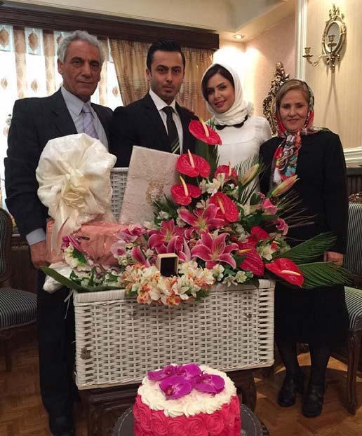 عکس عروسی خانم مجری ایرانی