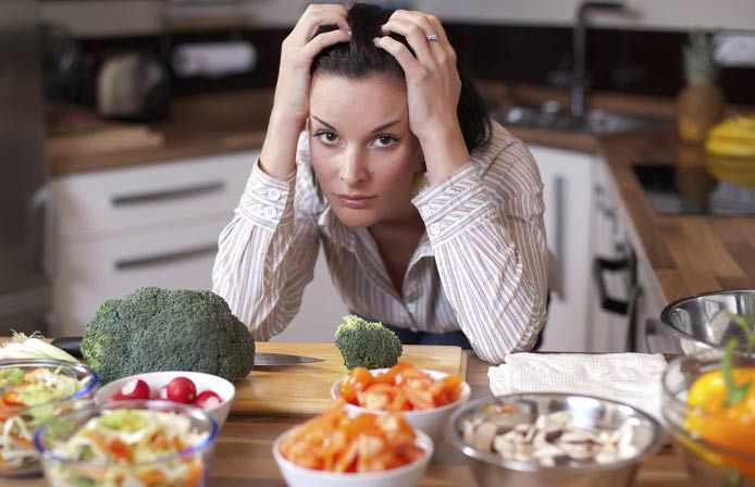 10 عادت بد غذایی که باعث کم خونی می شوند!