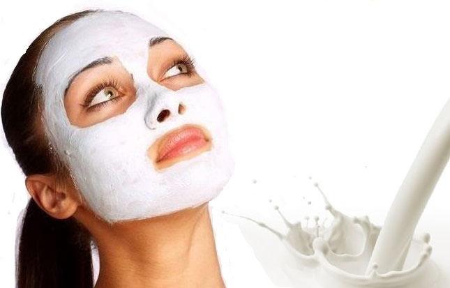 معجزه ماسک شیر برای پوست
