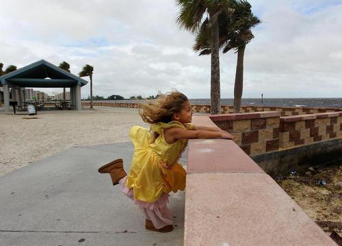 رسیدن توفان مهیب متیو به سواحل ایالت فلوریدا آمریکا