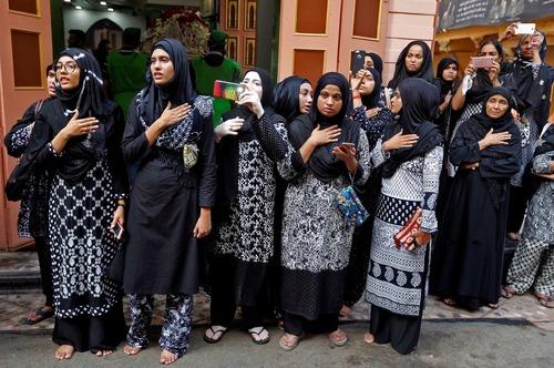 عزاداری شیعیان در احمد آباد هند
