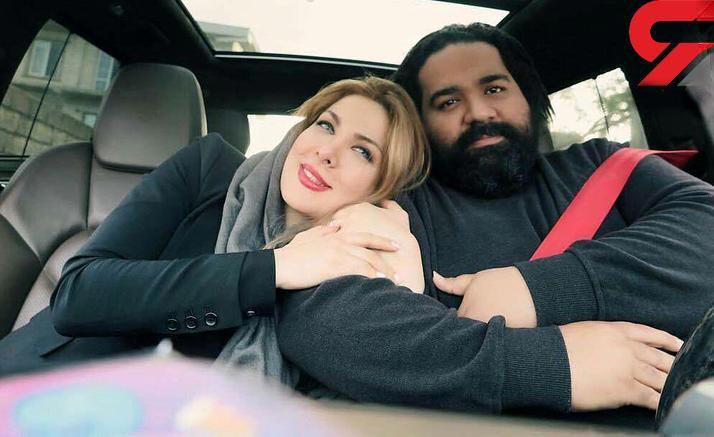 عکس جدید رضا صادقی و همسرش